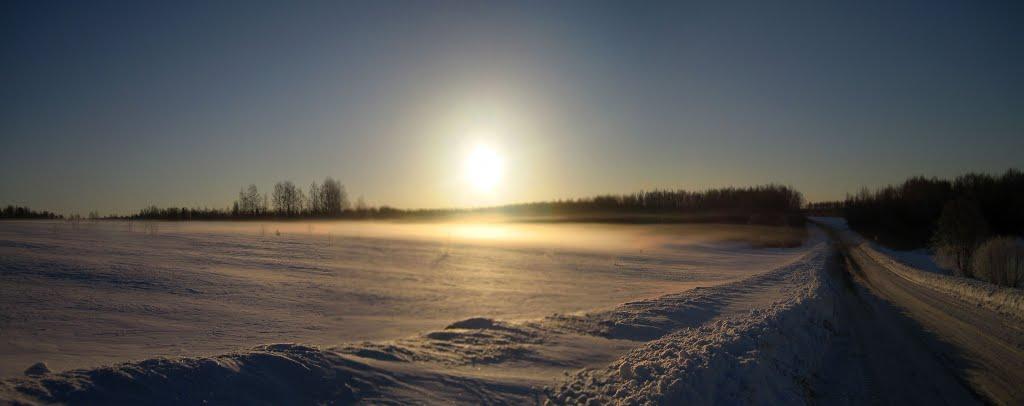 раннее зимнее утро