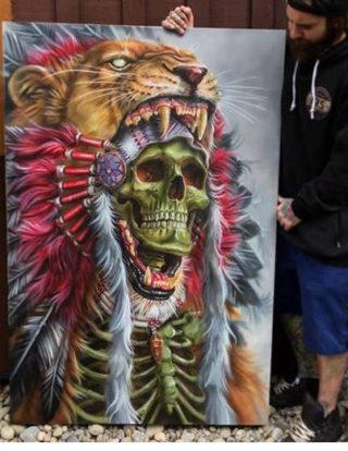 картина гнев и смерть