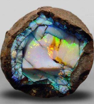 минерал в разрезе